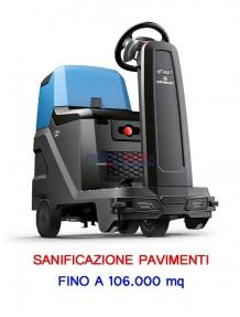 Fimap BMg Sanitizer - Macchina per la sanificazione dei pavimenti a batteria (fino a 106.000 mq)