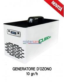 Cubo 10 - Generatore di aria sanificata / Inattivatore Virus / Degradazione odori / Abbattitore cariche batteriche (10 grammi/h)