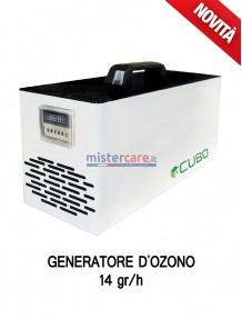 Cubo 14 - Generatore OZONO di aria sanificata / Inattivatore Virus / Degradazione odori / Abbattitore cariche batteriche (14 grammi/h)