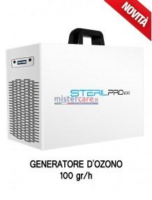 Sterilpro 100 - Generatore OZONO di aria sanificata / Inattivatore Virus / Degradazione odori / Abbattitore cariche batteriche (100 grammi/h)