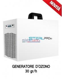 Sterilpro 30 - Generatore OZONO di aria sanificata / Inattivatore Virus / Degradazione odori / Abbattitore cariche batteriche (30 grammi/h)
