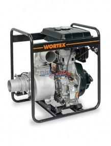 Wortex HW 100 E - Motopompa diesel autoadescante (1.600 litri/min)