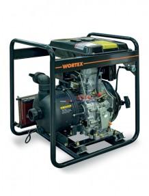 Wortex HL 50 HXLE - Motopompa centrifuga diesel (550 lt/min) per acque corrosive