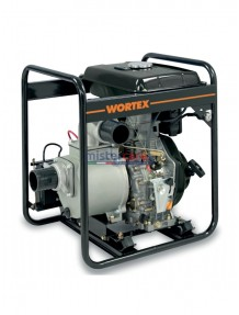 Wortex HW80-E - Motopompa diesel autoadescante (1.000 lt/min)
