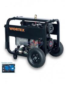Wortex HWS 6500 E AVR - Gruppo elettrogeno monofase (5,2 kW) AVR con motore a scoppio (diesel)