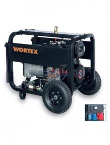 Wortex HWS 6500 3E - Gruppo elettrogeno trifase (5,2 kW) con motore a scoppio (diesel)