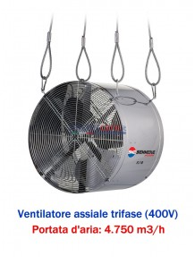 BM2 FJ 18 T - Ventilatore assiale trifase (400V)