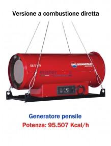 BM2 GE/S 105 - Generatore D'aria Calda A Combustione diretta (pensile) - 95.507 Kcal/H