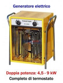 Master B 9 - Generatore d'aria calda elettrico trifase (4,5 - 9 kW)