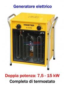 Master B 15 EPB - Generatore d'aria calda elettrico trifase (7,5 - 15 kW)