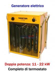 Master B 22 - Generatore d'aria calda elettrico trifase (11 - 22 kW)