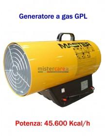 Master BLP 53M - Generatore d'aria calda a gas GPL (manuale) - 45.600 Kcal