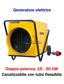 Master B 30 EPR - Generatore d'aria calda elettrico trifase (15 - 30 kW)
