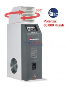 BM2 Confort 70 - Generatore d'aria calda a gasolio con termostato (60.869 Kcal/h)