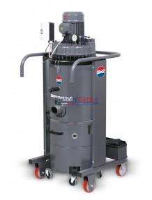 BM2 TTXV 55 - Aspiratore industriale 5,5 Hp da 100 litri (turbina)
