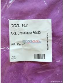 Cristal auto - Panno sintetico asciugatura vetri e spolvero interno auto (10 pezzi)