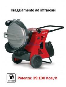 BM2 Fire 45 (1 speed) - Generatore d'aria calda ad infrarossi - 39.130 Kcal/H