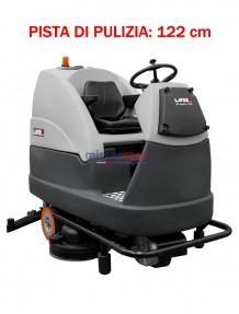 Lavor Comfort L 122 - Lavasciuga pavimenti batteria 36V, pista di pulizia 122 cm (trazionata)