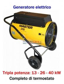 Master RS 40 - Generatore d'aria calda elettrico trifase (13 - 26 - 40 kW)