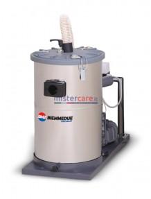 BM2 TH 30 - Aspiratore industriale 3 Hp da 50 litri (turbina)