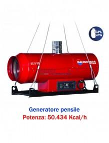 BM2 EC/S 55 - Generatore d'aria calda (sospeso) a gasolio - 50.434 kcal/h