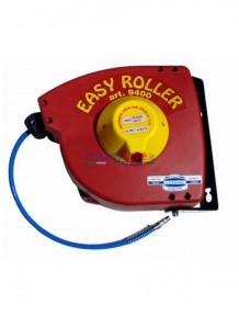 Flexbimec Easy Roller - Avvolgitubo utomatico con tubo 15 mt da 8 x 12 mm in poliuretano raccordato