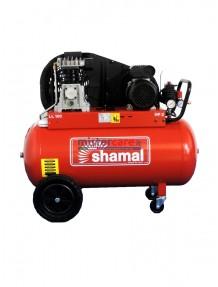 Shamal SB28/100 CM2 - Compressore bicilindrico, cinghiato (255 litri/min)