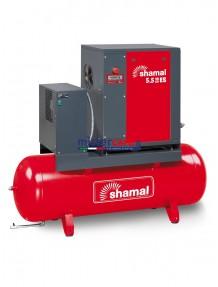 Shamal Ghibli 5.5 - 10 - 270 ES - Compressore a vite (su serbatoio con essiccatore) elettronico (5,5 kW - 7,5 Hp)