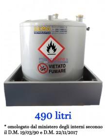 Demo - Serbatoio per gasolio (490 litri)