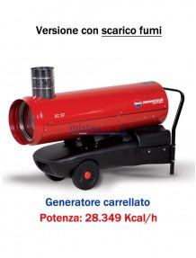 BM2 - EC32 - Generatore d'aria calda a combustione indiretta - 28.349 kcal/h