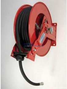 Flexbimec 9092 - Avvolgitubo automatico a molla (serie snodata EVO) completo di tubo da 20 metri