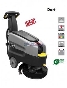 Lavor Dart 36 B - Lavasciuga pavimenti batteria 24V, pista di pulizia 36 cm (completa di caricabatteria e batterie)