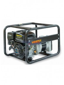 Wortex LWS 4000 HL - Gruppo elettrogeno monofase (4 kW) con motore a scoppio (benzina)