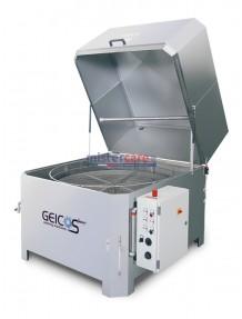 Geicos Washer 900 E - Lavapezzi in acciaio inox AISI 304 con lavaggio automatico e cestello rotativo