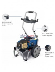 AR 630 K - Idropulitrice ad acqua fredda (120 bar - 10 lt/min) - NOVITA' MACCHINA COMPONIBILE