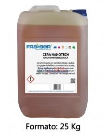 Fra-Ber Cera Nanotech - Cera formulata con nanotecnologia e autoasciugante (25 Kg)