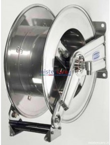 """Flexbimec - Avvolgitubo in acciaio inox - serie snodata EVO - L. max 20 m - Ø 1/2"""" (senza tubo)"""