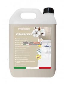 Fra-Ber Clean&Wax - Lava e incera con effetto riparatore per pavimenti - 5 Kg