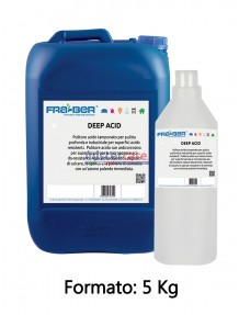 Fra-Ber Deep Acid - Pulitore acido per pulizia profonda - 5 Kg