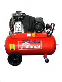 Shamal SB38C/100 CM3 - Compressore bicilindrico, cinghiato (390 litri/min)