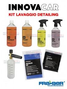 Fra-Ber - Kit prodotti PRELAVAGGIO auto detailing con lancia schiumogena professionale