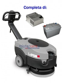 Lavor Hyper Quick 36B - Lavasciuga pavimenti batteria 12V