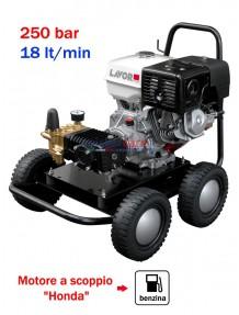 Lavor Thermic 13 H - Idropulitrice ad acqua fredda (250 Bar - 18 lt/min) con motore a scoppio (benzina)